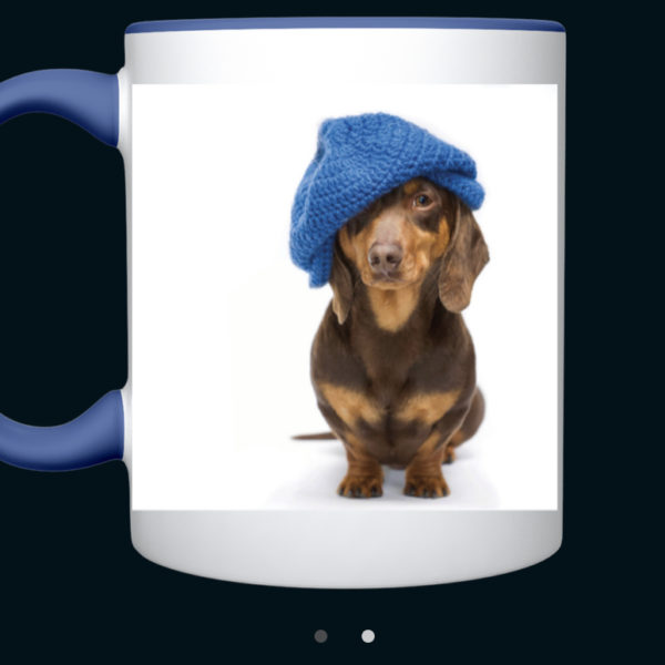 Dachshund Blue Hat Cup